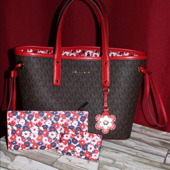 0dd60b855947 Michael Kors Bags | Carter Tote And Carnation Wallet | Poshmark
